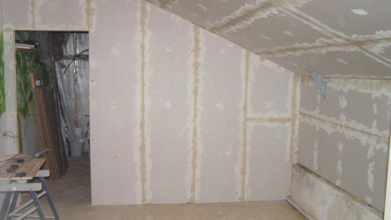 2008: Werkstatt und Büroraum im Bau