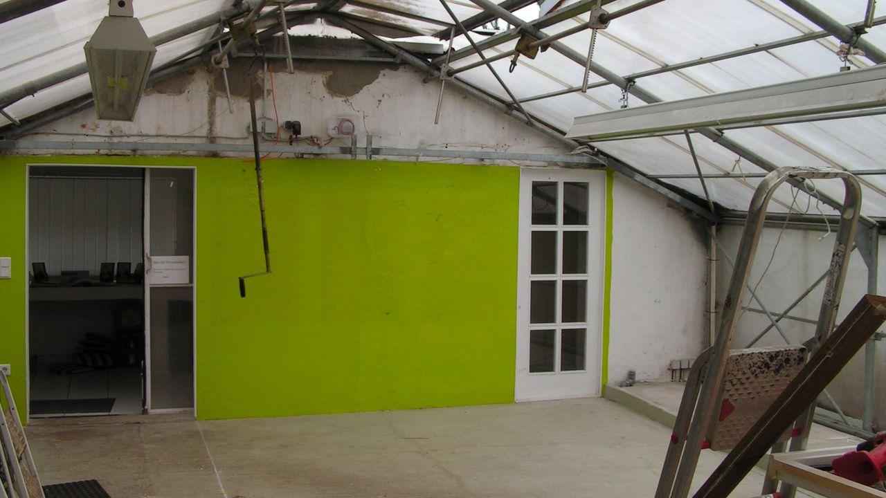 2010: Abriss im bisherigen Ausstellungsraum