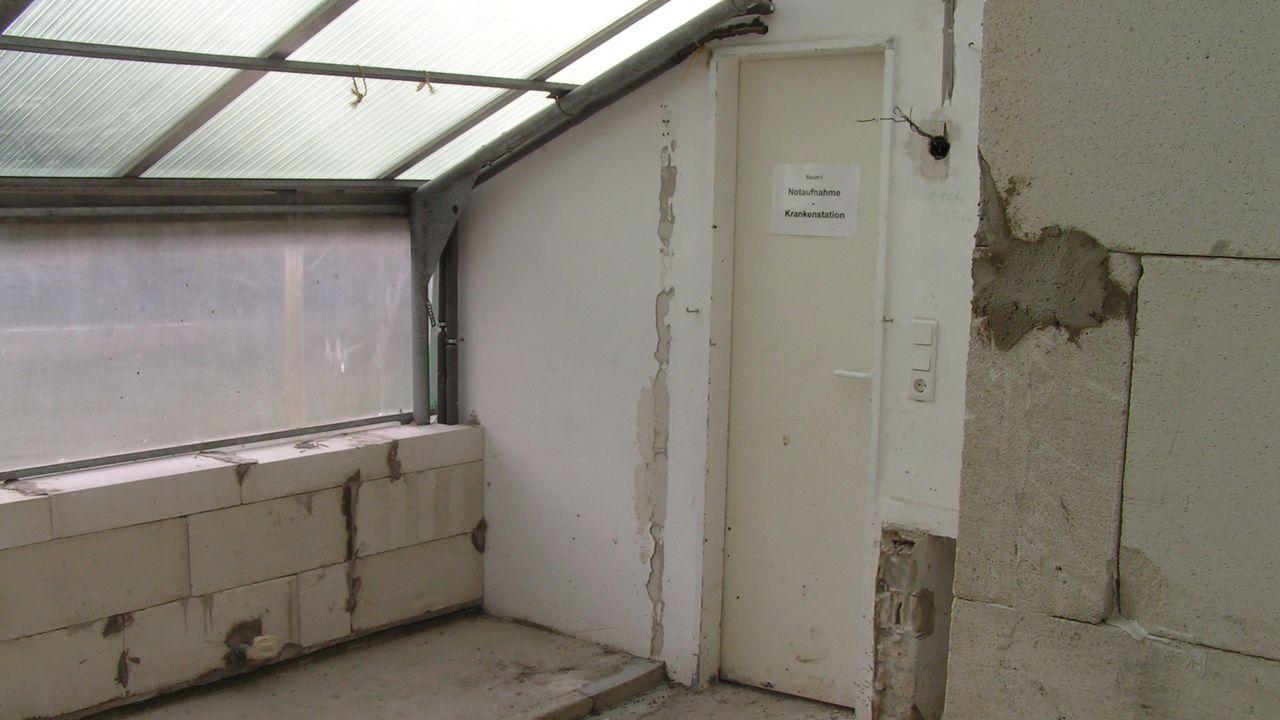 2010: Einbau neuer Krankenräume
