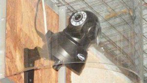 ausgestattet mit Netzwerkkameras