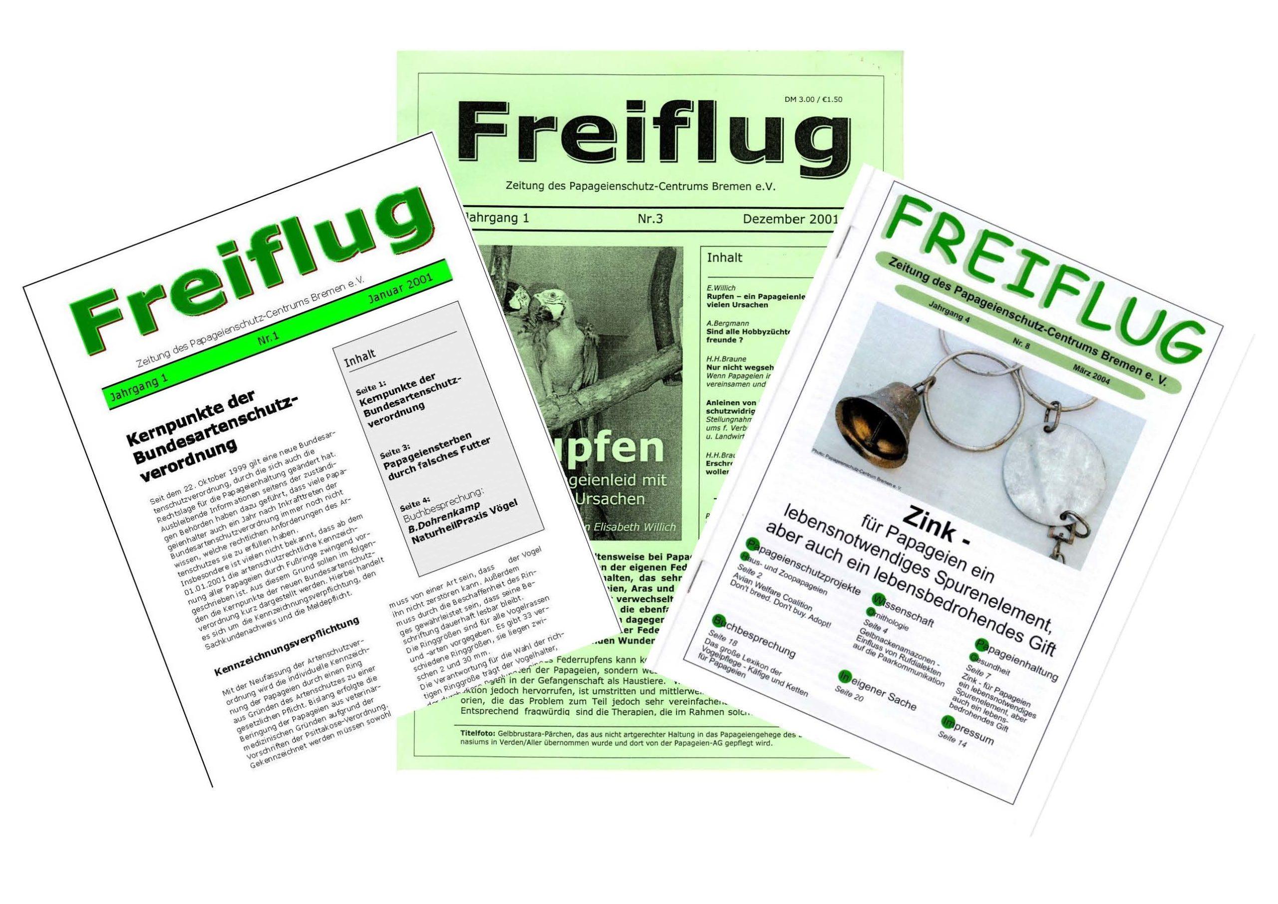 Archiv 'Freiflug'